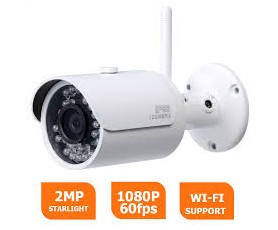Fixed Bullet camera 2Mp DAHUA IPC-HFW1200S-WIFI - IP