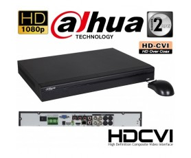 Dahua HCVR7104H-S2: Επαγγελματικό Καταγραφικό Tribrid για 4 HDCVI / IP / Αναλογικές Κάμερες έως 1080P με έξοδο VGA, HDM