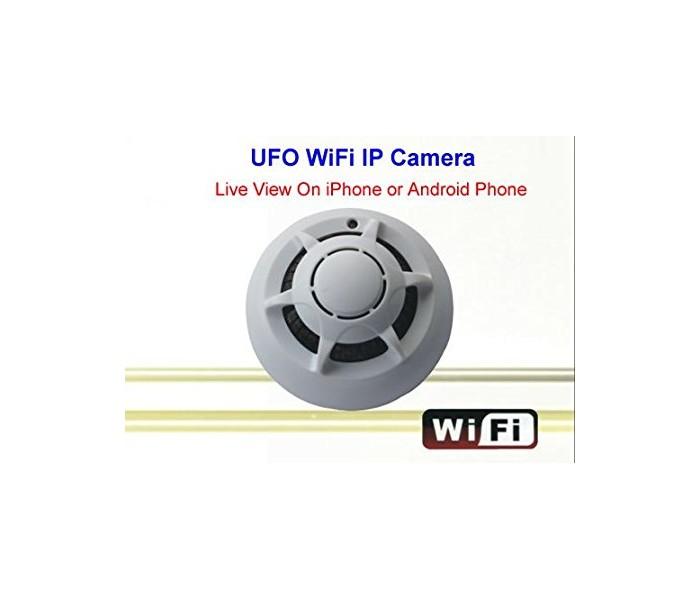 Ανιχνευτής καπνού UFO με κρυφή κάμερα WIFI -ΔΕΙΤΕ ΤΟΝ ΧΩΡΟ ΣΑΣ ΖΩΝΤΑΝΑ ΑΠΟ ΤΟ ΚΙΝΗΤΟ ΣΑΣ