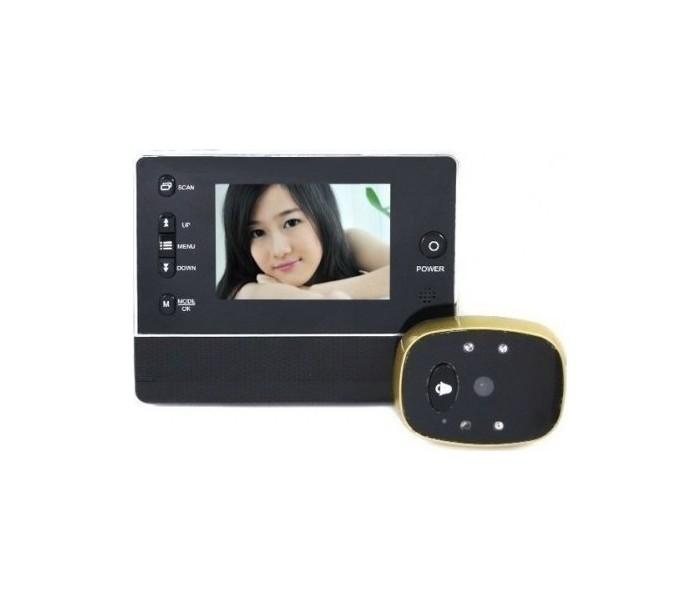 Ψηφιακό Ματάκι Πόρτας με Κάμερα ΚΜ900 DIGITAL DOOR PEELHOLE VIEWER (OEM)